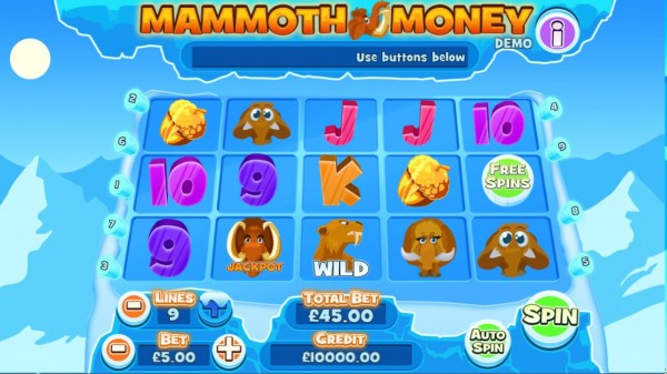Mammoth Money Screenshot