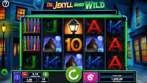 Dr. Jekyll Goes Wild Screenshot
