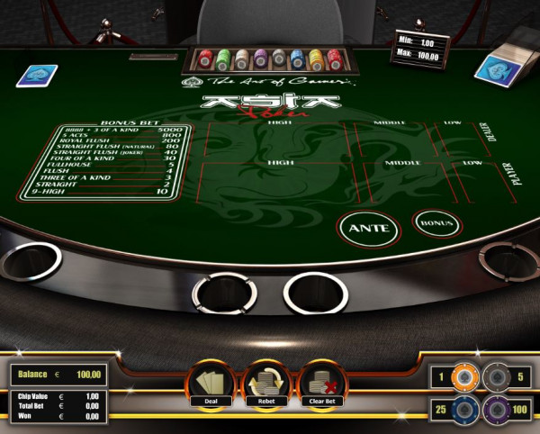 Asia Poker Screenshot