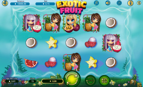 Exotic Fruit Screenshot