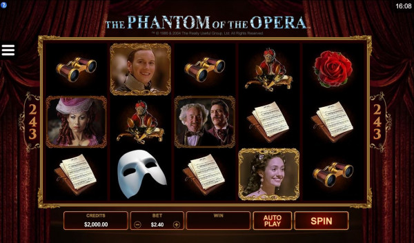 The Phantom of the Opera Screenshot