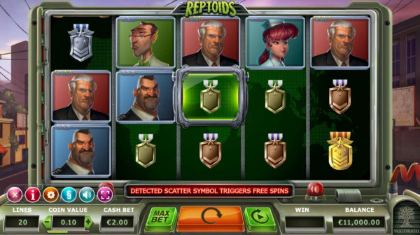 Reptoids Screenshot