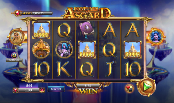 Fortunes of Asgard Screenshot