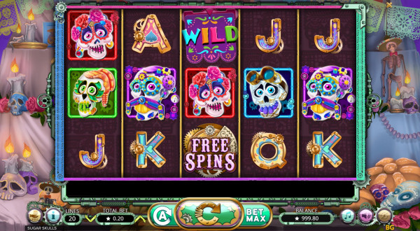 Sugar Skulls Screenshot