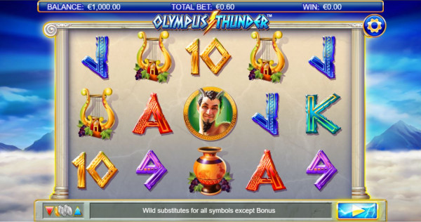Olympus Thunder Screenshot