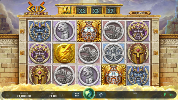 Ancient Fortunes: Zeus Screenshot