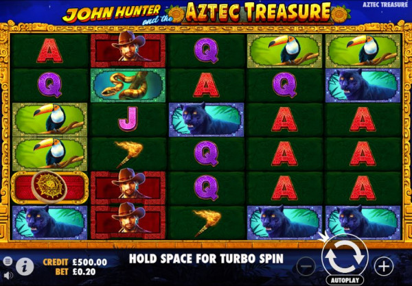 John Hunter and the Aztec Treasure Screenshot