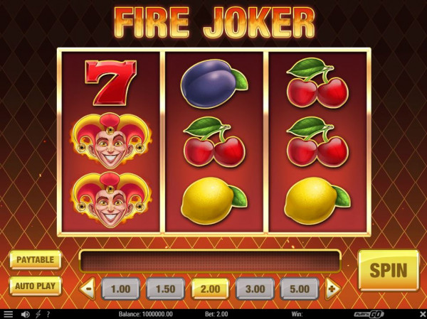 Fire Joker Screenshot