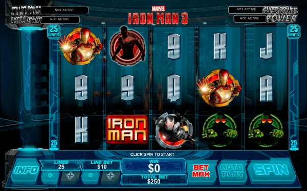 Iron Man 3 Screenshot