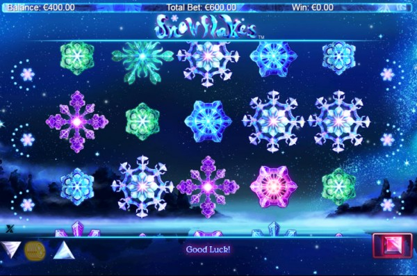 Snowflakes Screenshot