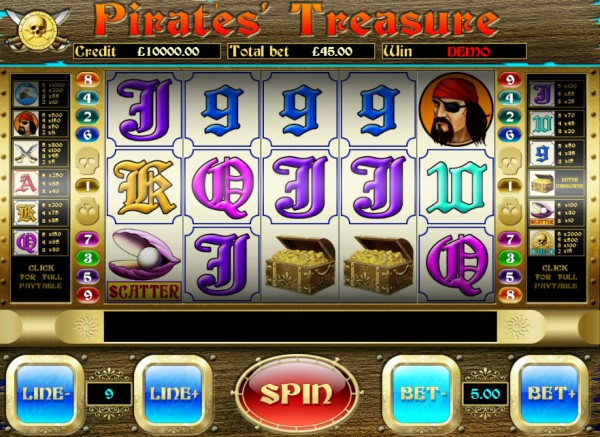 Pirates Treasure Screenshot