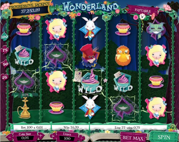 Wonderland Screenshot