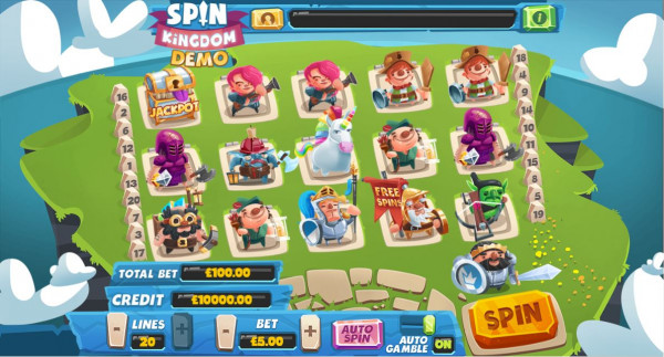 Spin Kingdom Screenshot