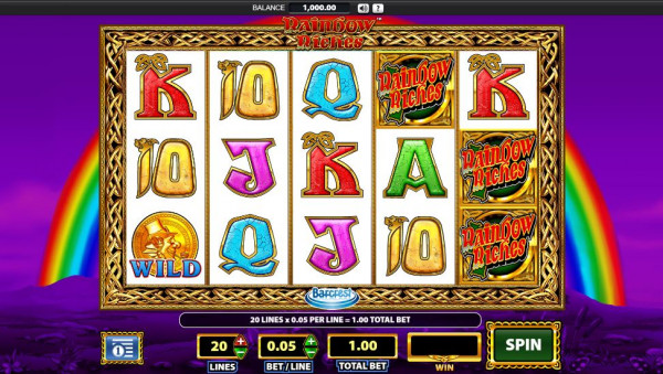 Rainbow Riches Screenshot