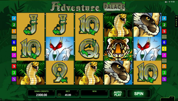 Adventure Palace Screenshot