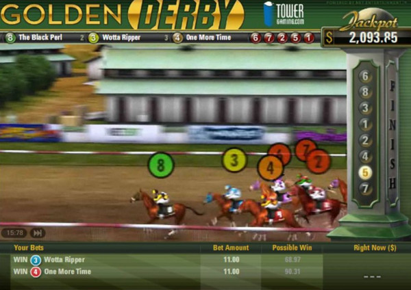 Golden Derby Screenshot