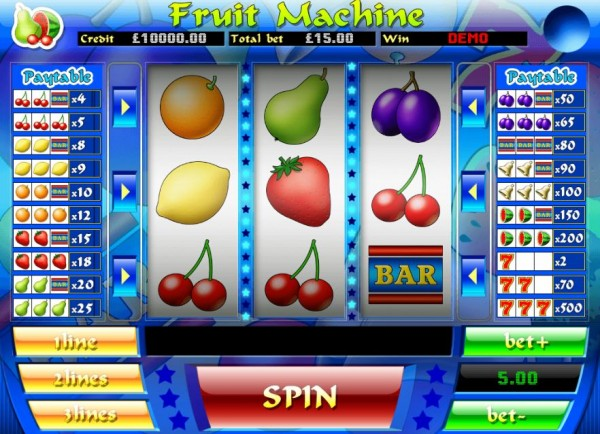 Fruit Machine Screenshot