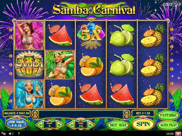 Samba Carnival Screenshot