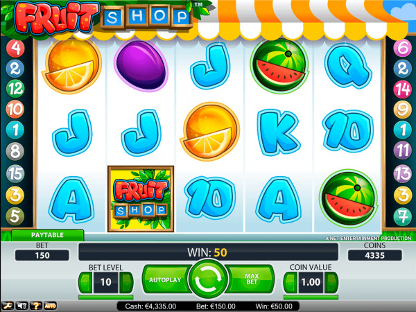 Fruit Shop Screenshot