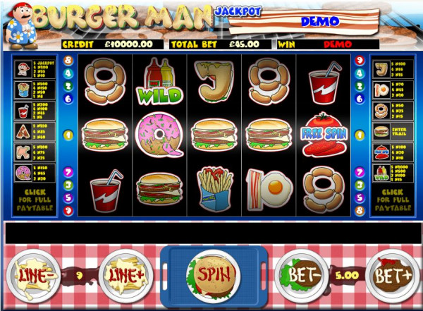 Burger Man Screenshot
